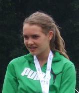 <b>Maria Dietz</b> (W15) siegte bei den Bayerischen Schülermeisterschaften mit fast <b>...</b> - 20110731wk-bayschm-ingolstadt1-158x185
